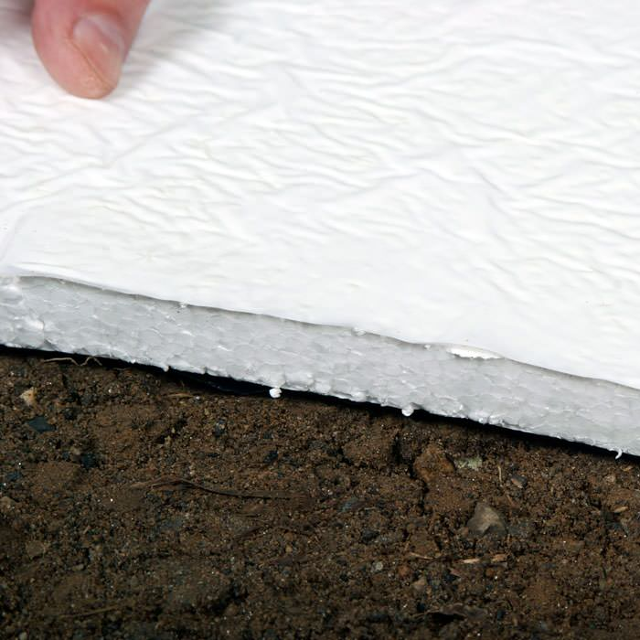 Crawl space insulation experts in insulating crawl spaces Concrete crawl space floor