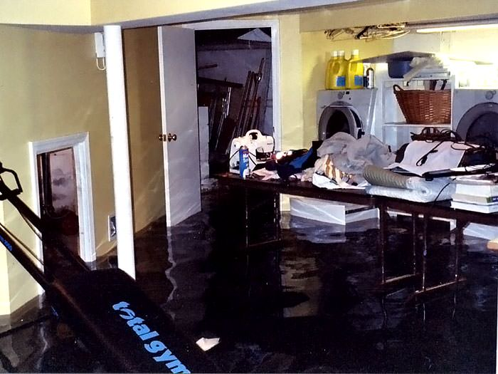 Basements Flooding From Plumbing Failures